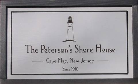 Shore House Signs to customize.