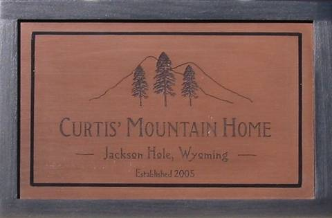 Mountain House Signs by Matthew Henry